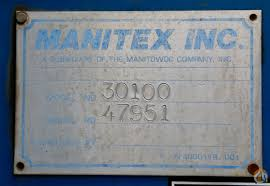 sold used manitex 30100 30 ton 100 u0027 4 section telescopic boom