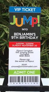 trampoline invitations trampoline park birthday party invitations invitation librarry
