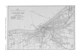 Map Cleveland Ohio by