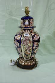 Table Lamp Malaysia Penang A Masons Ironstone Penang Pattern Table Lamp Base