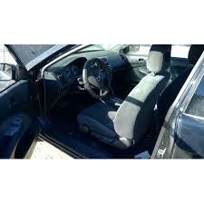2001 honda civic ex parts car black with black interior 4