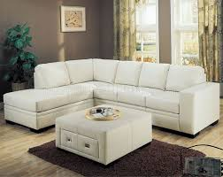 Leather Couches For Sale Sofas Center Poundex Dante White Bonded Leather Sectional Sofa