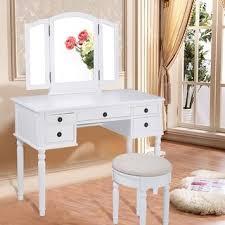 Vanity Folding Mirror Linon Ariana Vanity Set Free Shipping Today Overstock Com
