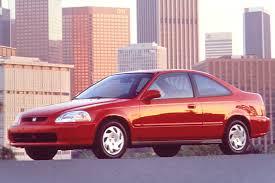 96 honda civic 2 door coupe 1996 00 honda civic consumer guide auto