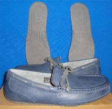 ugg australia blue chester sheepskin ugg australia chester leather mens loafers slip on shoes 1004247