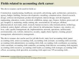 accounting clerk resume samples 2012 actuary template a modest