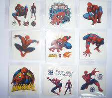 spiderman tattoos ebay