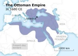 Ottoman Empire Borders The Ottoman Empire