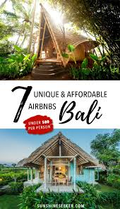 Unique Airbnbs Includes 35 Gift Voucher Make Your Holiday In Bali Even More