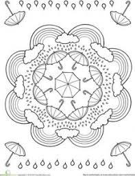 free printable spring mandala crafts and worksheets for