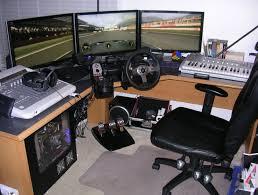 Pc Desk Setup Pc Gaming Desk Setup Home Design Ideas
