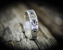 blue moose wedding band moose ring etsy