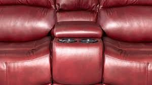 Red Leather Reclining Chair Red River Power Reclining Loveseat Gallery