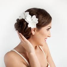 magnolia hair flowers bridal bridal hair piece magnolia