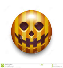 halloween pumpkin smiley icon royalty free stock photography