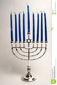 hanukkah candles colors silver menorah with candles royalty free stock image image 353976