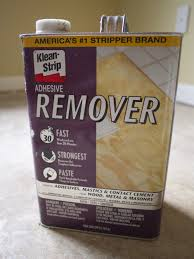 flooring how to get adhesive concrete from linoleum tiles