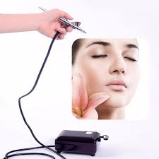 Halloween Airbrush Makeup Kit by Aliexpress Com Buy Airbrush Kit With Compressor Air Brush Makeup