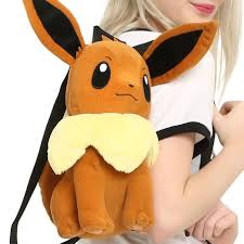 pokemon eevee plush backpack shut up and take my yen