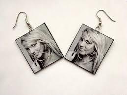 decoupage earrings decoupage earrings handmade rzeczy do