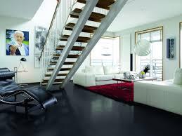 floor wooden upstairs design ideas with black pergo laminate