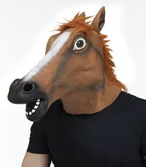 Horse Head Mask Meme - horse head mask idolza