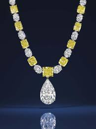 yellow diamond necklace pendants images Graff white and yellow diamond necklace featuring a jpg__