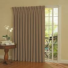 Curtains For Patio Door Eclipse Thermal Blackout Patio Door Curtain Panel 100
