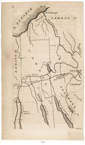 Colorado Map Of Counties by Cayuga County Nygenweb Project Map Page