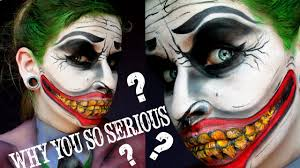 joker makeup tutorial why you so serious youtube