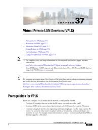vpls virtual private network multiprotocol label switching