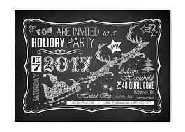 gift ideas for country guys santa chalkboard invite
