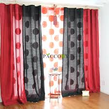 black and red curtains for bedroom red black and white bedroom black and red curtains rayline info