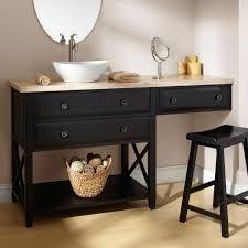 bathroom sink vanity with makeup area home vanity decoration
