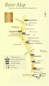 bangkok map tourist attractions travel in bangkok by boat naga travel