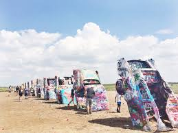cadillac ranch carolina cadillac ranch graced by the