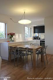 le suspension cuisine design cuisine ouverte et totalement réaménagée s habille de blanc