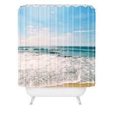 Nautical Shower Curtains Nautical Shower Curtains Deny Designs