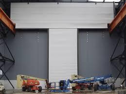 Industrial Overhead Door by Fold Up Door Fabric For Overhead Cranes Exterior Craneway