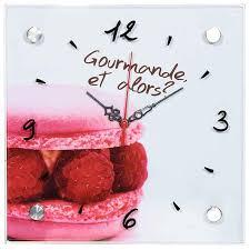 pendule de cuisine cuisine horloge cuisine verre horloge cuisine verre or horloge