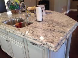 interior fantastic delicatus granite and granite edge with