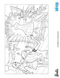 barbie fashion fairytale colouring pages to print coloring