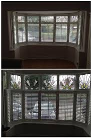 best 25 cafe shutters ideas on pinterest shutter blinds window two very similar bay windows with stained glass windows fitted with shutters today in didsbury