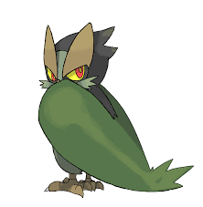 cartoon cockatiel fantastic fakemon owacoat u2013 u003e gahoak u2013 u003e cryptical grass grass