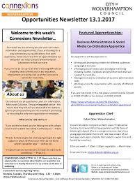 lexus apprenticeships uk connexions newsletter 13th jan2017