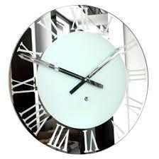 beautiful large mirrored wall clock 91 large mirrored decorative