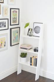 Wood Storage Shelf Designs by Best 25 Wooden Ladder Shelf Ideas On Pinterest Old Ladder Shelf