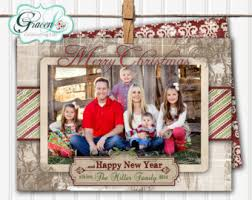 personalized christmas cards photo christmas card rustic christmas barn wood