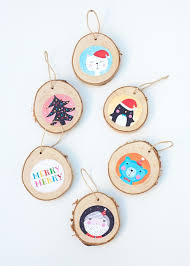 diy illustrated ornaments to make with shelterness