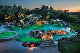 backyards with pools extreme backyard pools outdoor goods